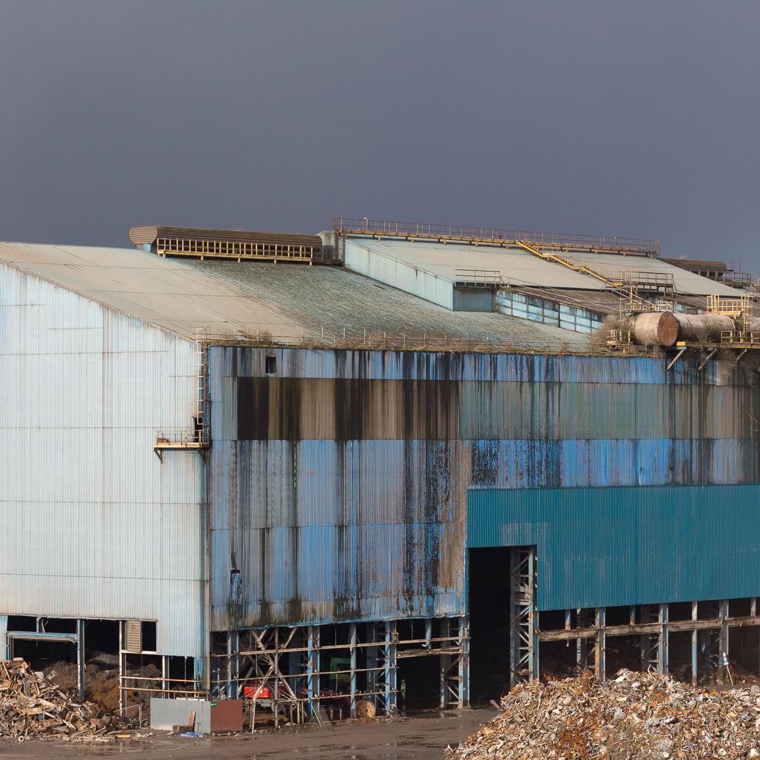 Scrap Steel II, Celsa Steel, Tremorfa, Cardiff, Gwent.
