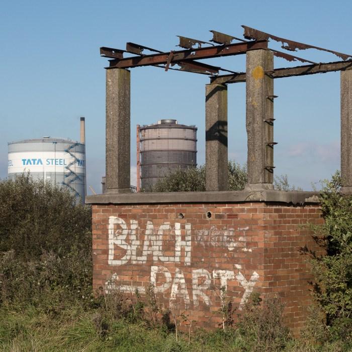Beach Party, Tata Steelworks, Port Talbot, Glamorgan.
