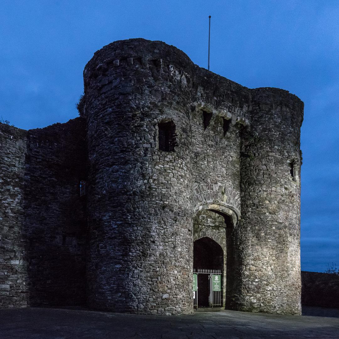 Carmarthen Castle, Gwent.
