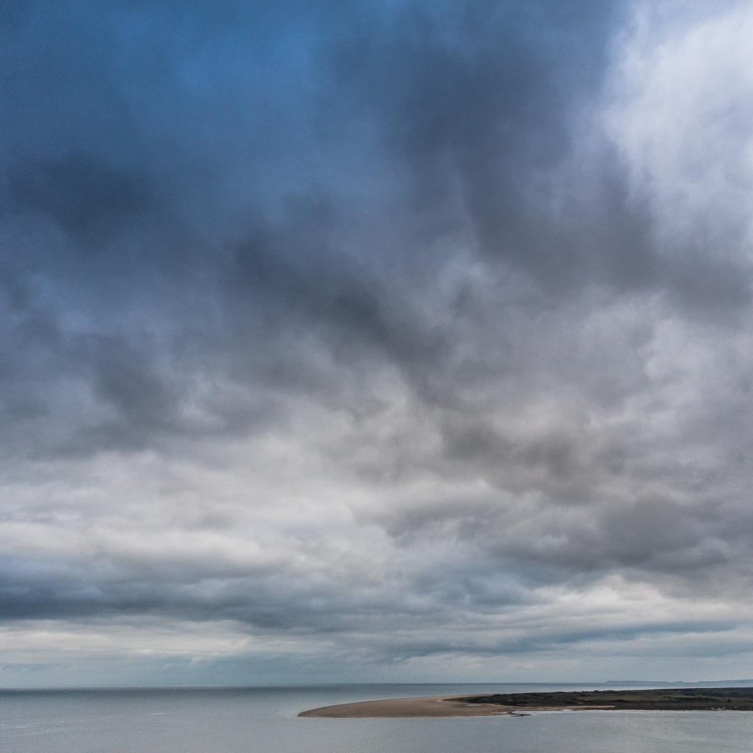 East marsh, Laugharne, Gwent.