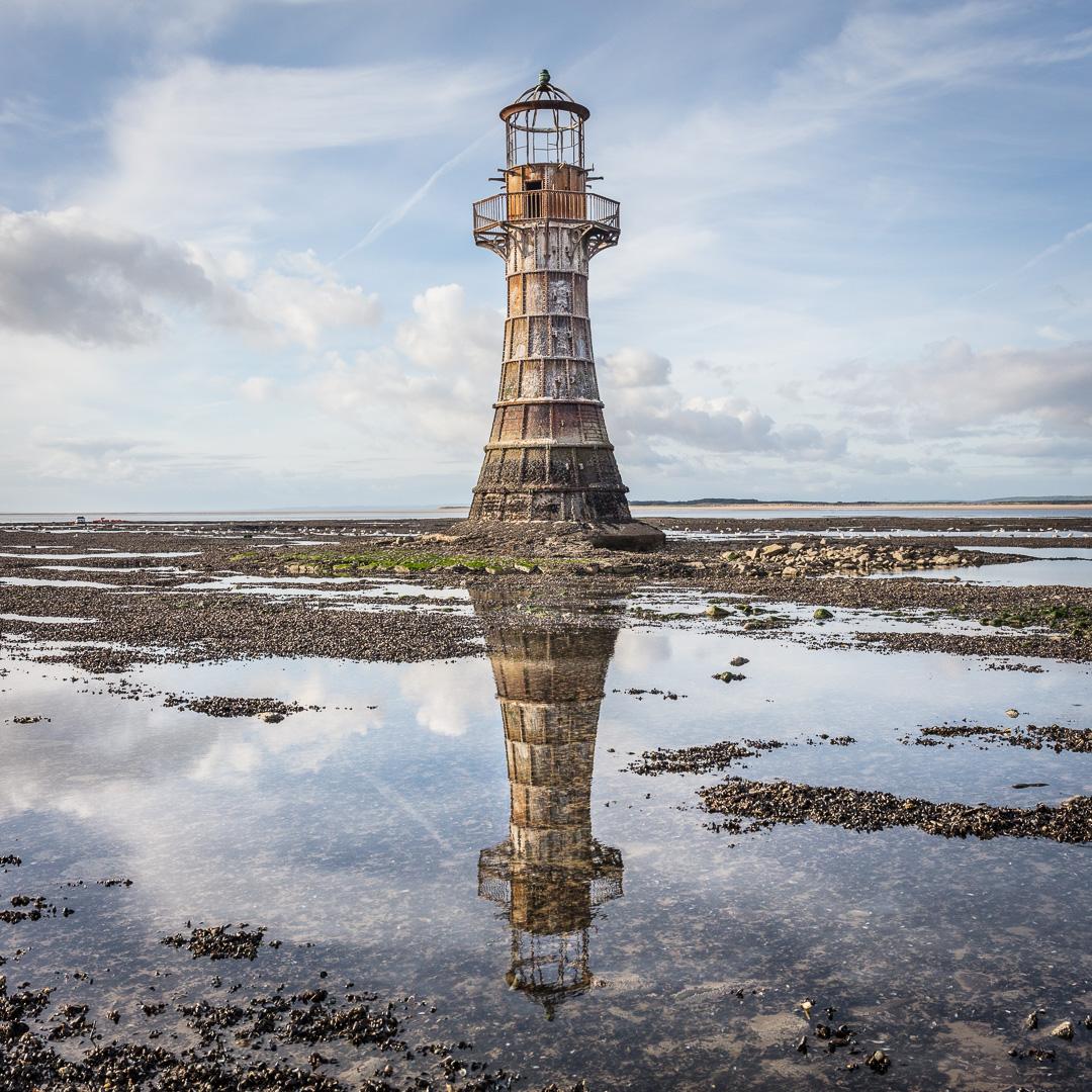 Whiteford Point Lighthouse V, Gower, Glamorgan.