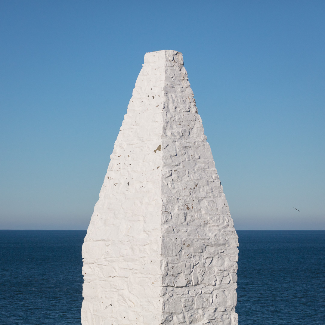 Southern navigation beacon, Porthgain, Pembrokeshire.