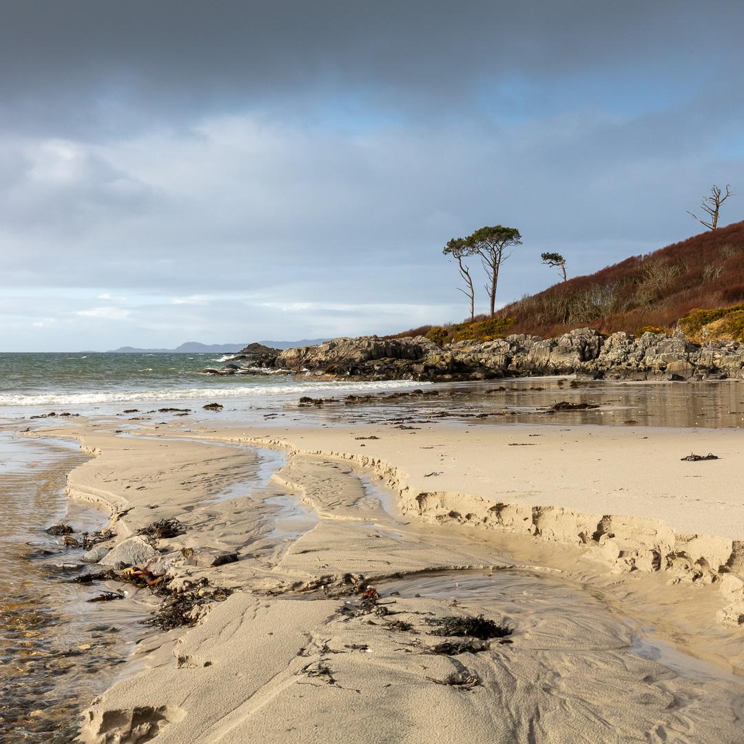 Camas an Daraich (looking north), Lochaber, Scotland.