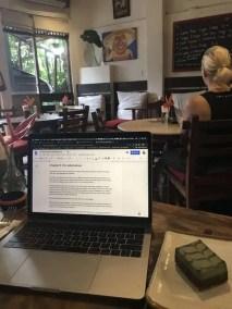 Writing bali 3