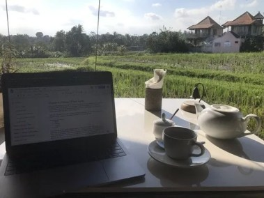 Writing bali 4