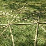 Assembling Geodesic Bamboo Stardome