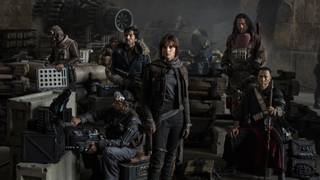 Rogue One Rebel Cast. Courtesy of LucasFilm