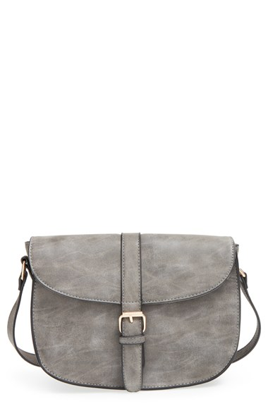 Amici Accessories Faux Leather Crossbody Bag $36