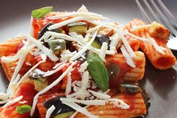 Italian Pasta alla norma recipe