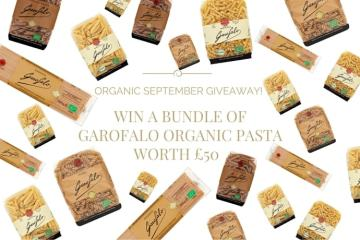 WIN A BUNDLE OF GAROFALO ORGANIC PASTA WORTH £50