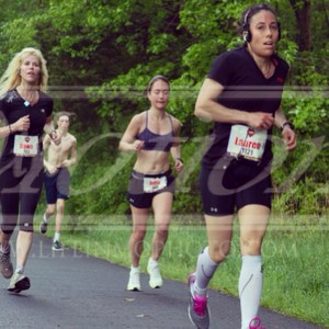 Baby's First Half on May 17th at the Superhero Half in Morristown (8 weeks)