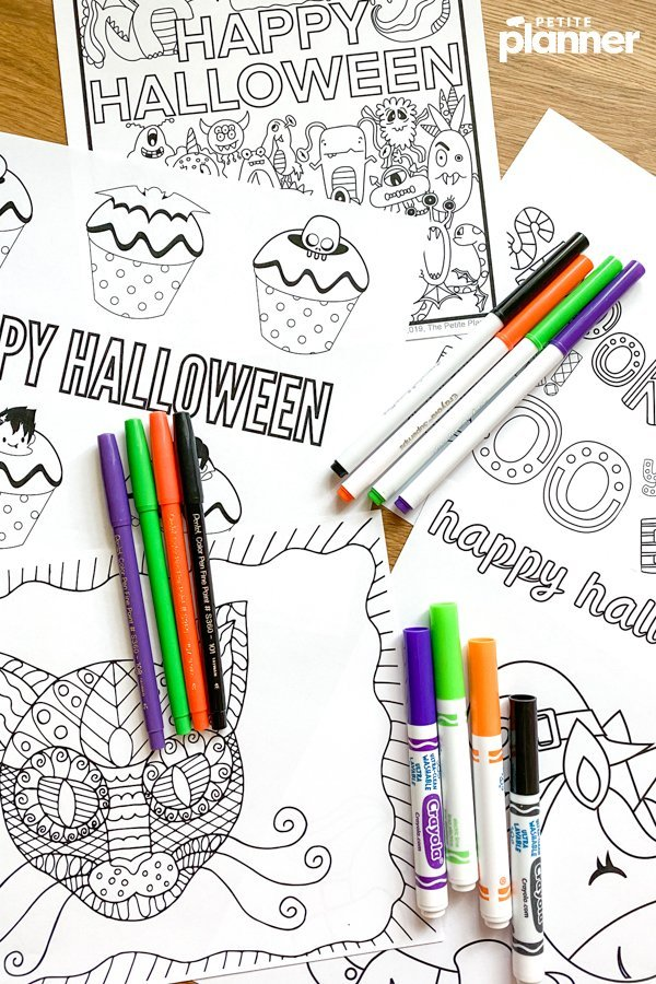 31 Free Halloween Coloring Pages For Adults Kids Download Now