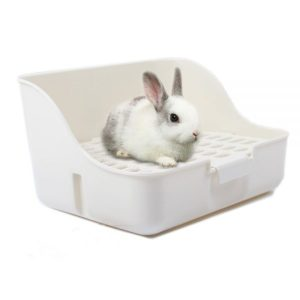 M-Aimee Square Potty Trainer Corner Litter Bedding Box