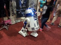 R2-D2 makes the rounds.