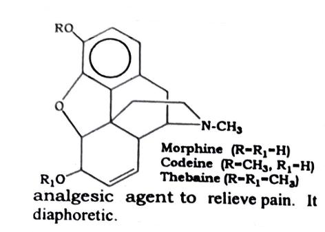 Opium Chemical constituents