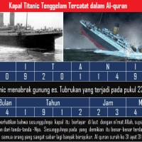 [Keajaiban Al-Quran]  Kapal Titanic Tenggelam Telah Tercatat Dalam Al-quran