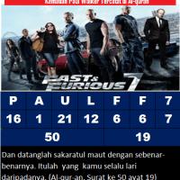 Ajaib, Kecelakaan Paul Walker Aktor Pemeran Fast & Furious 7 Telah Tercatat Dalam Al-quran