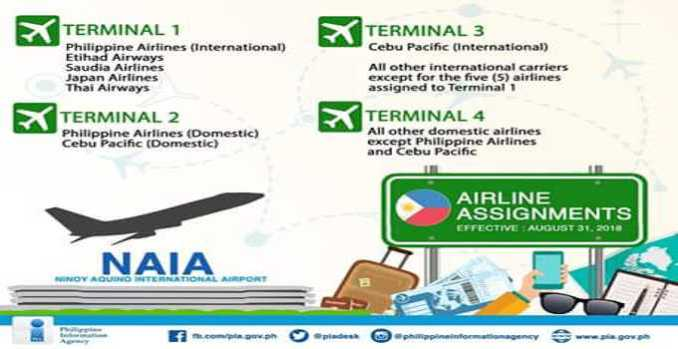 naia airline assignments
