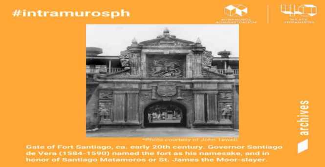 gate of fort santiago