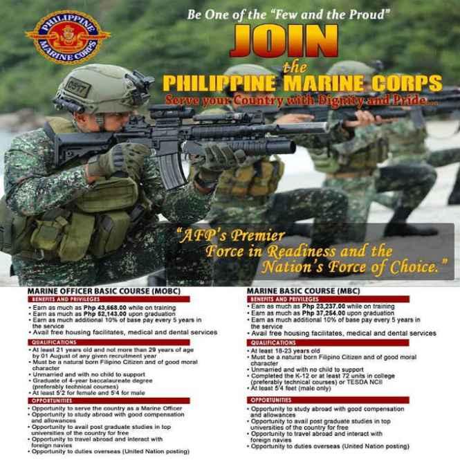 philippine marines recruitment