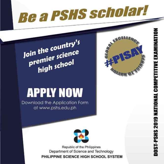 pshs scholar pisay scholar