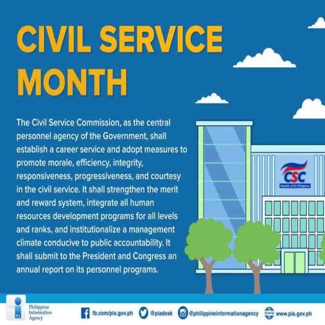 civil service month
