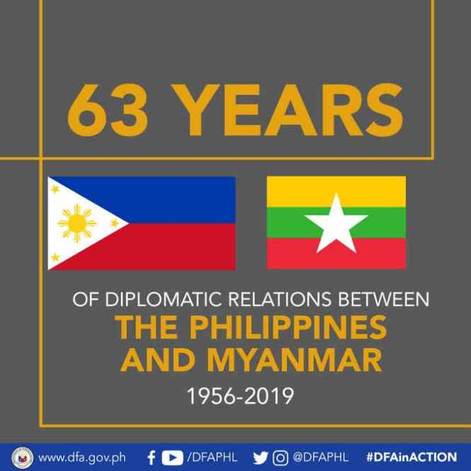 philippines and myanmar september 29
