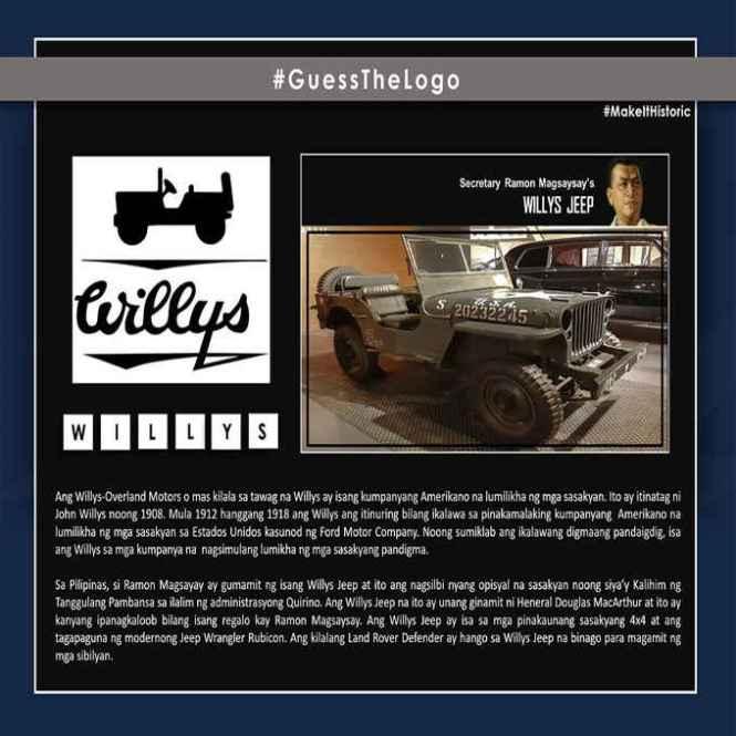 ramon magsaysay's willys jeep