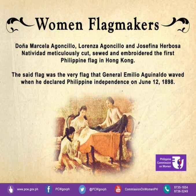 who made the first philippine flag