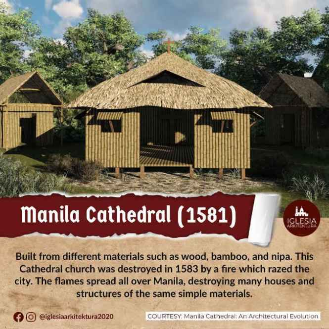 manila cathedral 1581