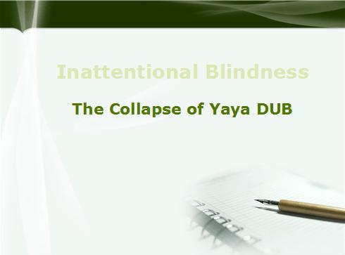YayaDUB collapsed