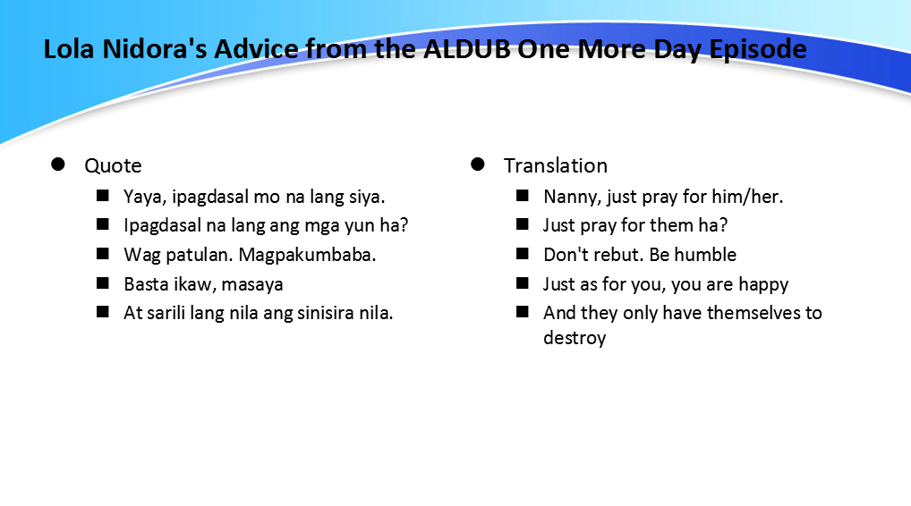 ALDUB One More Day [What Did We Miss]