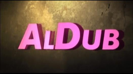 Blaming ALDUB