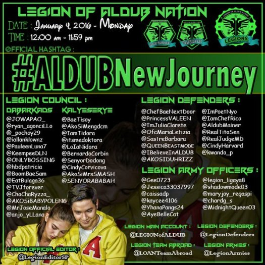 ALDUB New Journey