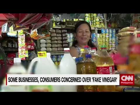 Some businesses, consumers concerned over 'fake vinegar'