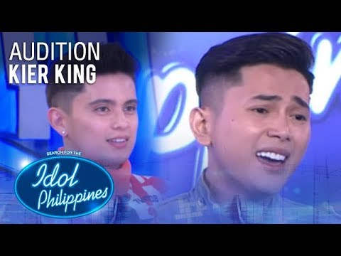 Kier King - You Are The Reason | Idol Philippines 2019 Auditions