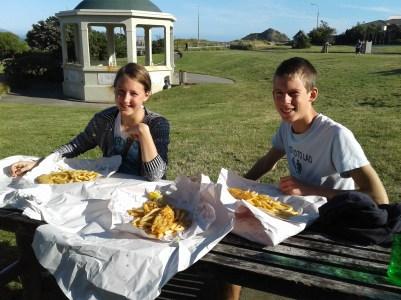 Fish & chips at Shorlands Park