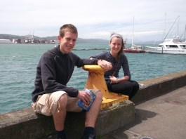 On the Wellington waterfront