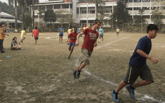 Running the 1500m