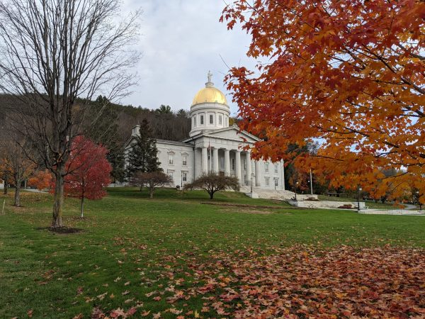 Vermont State Capitol Building, Montpelier, Vermont (Photo)
