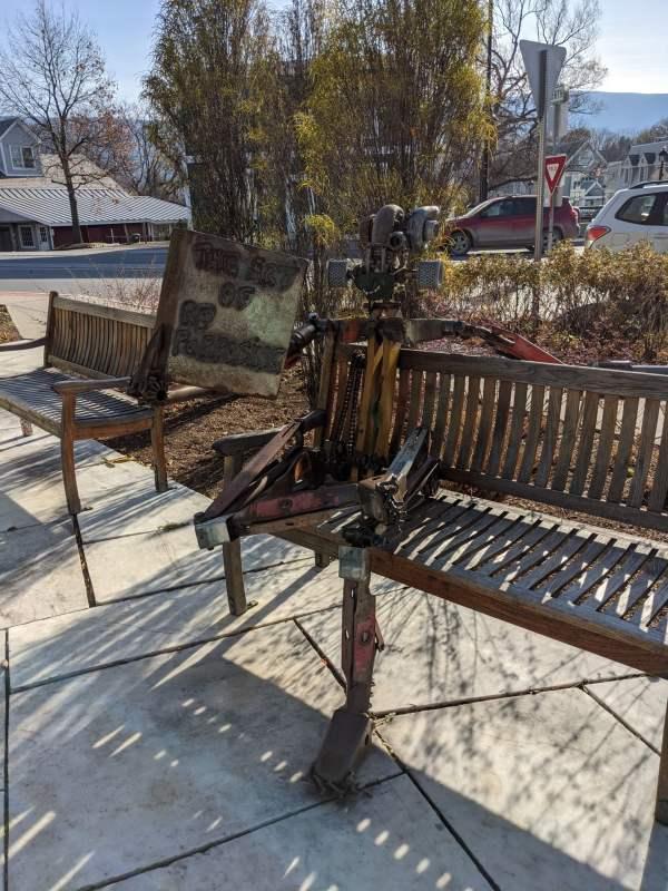 The Art of Repurposing, Manchester Center Vermont