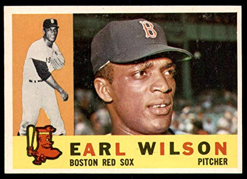 Valuable Red Sox Baseball Cards: 1960 Topps Earl Wilson Rookie Card