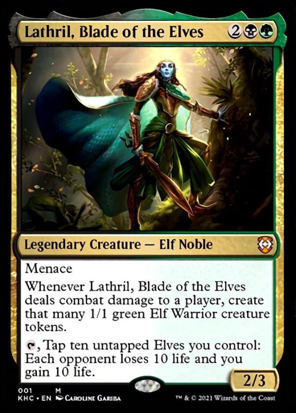 Lathril, Blade of the Elves – A Magic the Gathering Card Review