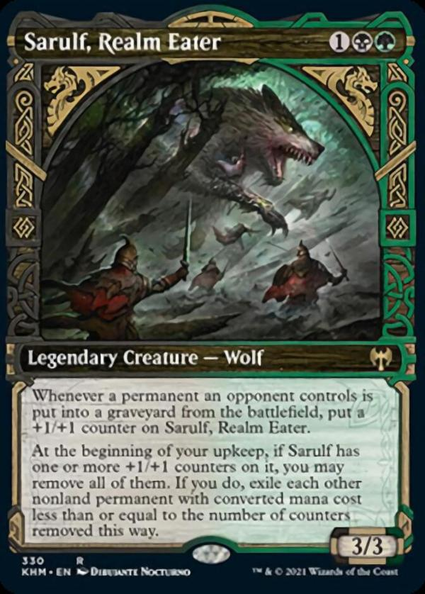 Sarulf, Realm Eater – A Magic the Gathering Card Review