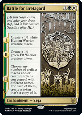 Battle for Bretagard – A Magic the Gathering Card Review