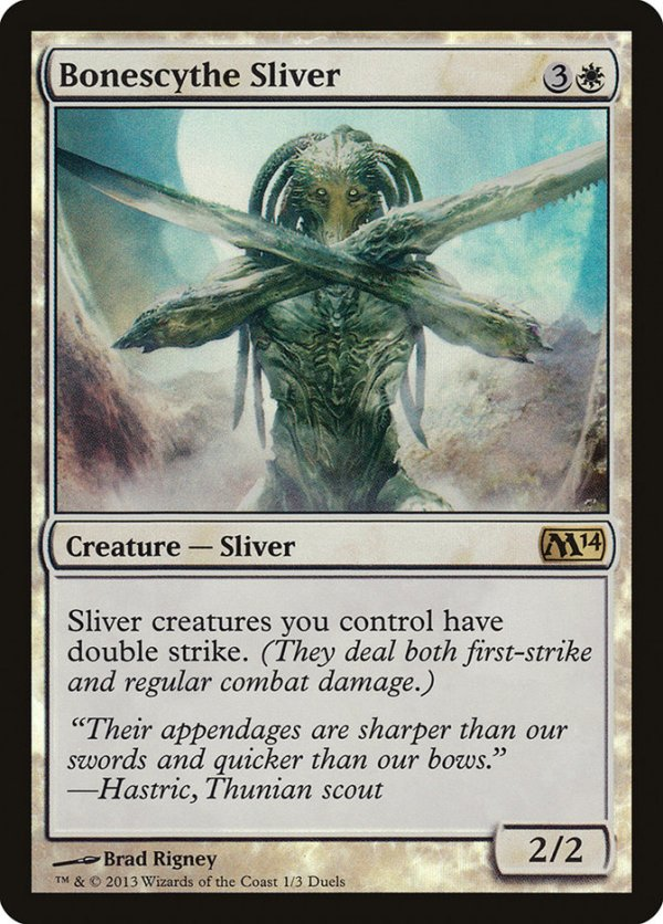 Bonescythe Sliver – A Magic the Gathering Card Review
