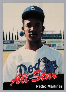 1991 Cal League All-Stars Pedro Martinez – Baseball Rookie Card Reviews