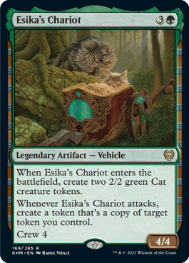 Esika's Chariot – A Magic the Gathering Card Review