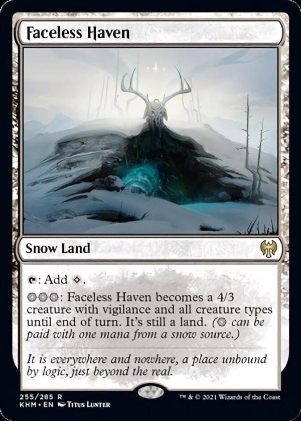 Faceless Haven – A Magic the Gathering Card Review