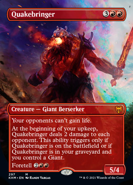 Quakebringer – A Magic the Gathering Card Review